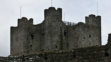 Example of a Norman Castle